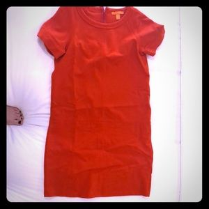 Fun Joe Fresh bright orange sheath dress size 0